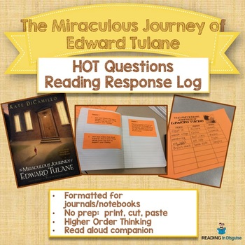 The Miraculous Journey of Edward Tulane Higher Order Think