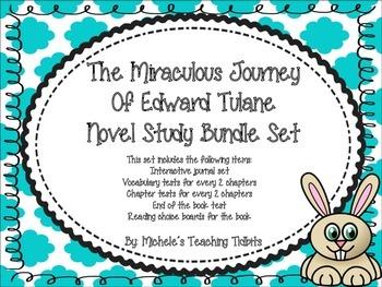 The Miraculous Journey of Edward Tulane Novel Study Bundle Set