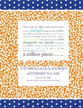 The Miraculous Journey of Edward Tulane - guided discussio