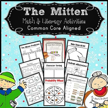 Mitten: Math & Literacy Activities for The Mitten by Jan Brett
