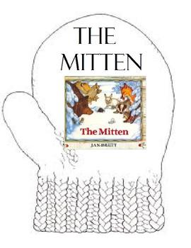 The Mitten Adapted Book, Jan Brett (Activity, Autism, Spee