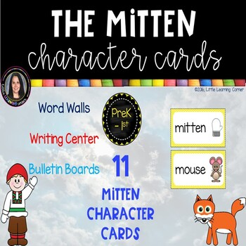 The Mitten Character Cards