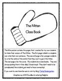 The Mitten Class Book