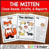 The Mitten Animal Research Book