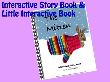 The Mitten INTERACTIVE STORY BOOK & Little Interactive Book
