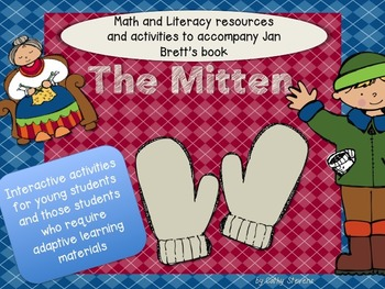 Mitten Literary and Math Activities for The Mitten - Inter