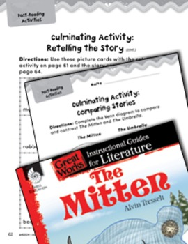The Mitten Post-Reading Activities