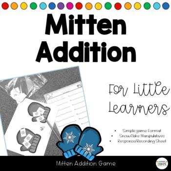 The Mitten - Snowflake Addition Math Game