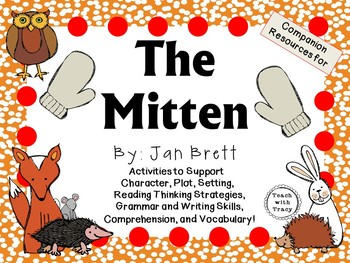 The Mitten by Jan Brett:  A Complete Literature Study!