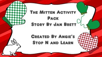 The Mitten by Jan Brett Activity Pack