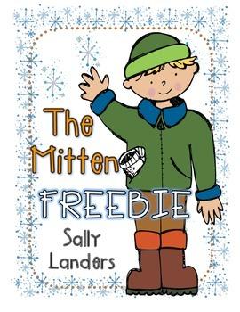 The Mitten by Jan Brett FREEBIE!