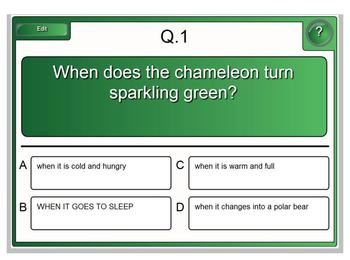 The Mixed Up Chameleon Harcourt Smartboard Lesson