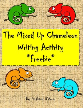 The Mixed Up Chameleon Writing Activity