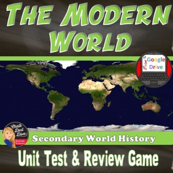 The Modern World Test & Review Game – Common Core Aligned