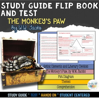 THE MONKEY'S PAW SHORT STORY LITERATURE GUIDE FLIP BOOK, T
