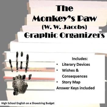 The Monkey's Paw Graphic Organizers (W.W. Jacobs)
