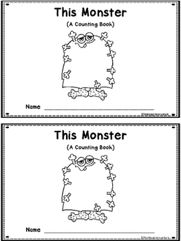 This Monster - A Counting Book