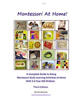The Montessori At Home! eBook & Printable Materials Bundle