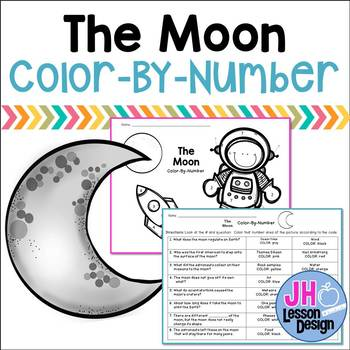The Moon Color-By-Number