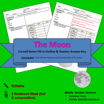 The Moon Cornell Notes #17