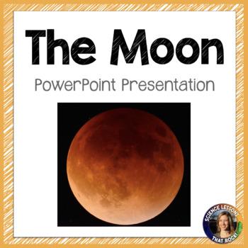 The Moon SMART notebook presentation