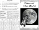 Moon - The Four Phases Interactive Minibook plus Craftivities