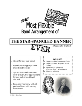 The Most Flexible Band Arrangement of the Star-Spangled Ba