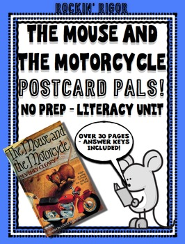 The Mouse and the Motorcycle - Postcard Pals