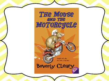 The Mouse and the Motorcycle Vocabulary Visuals (for ELLs)