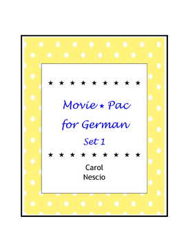 Movie * Pac For German  Set 1