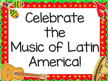 The Music of Latin America PowerPoint Presentation