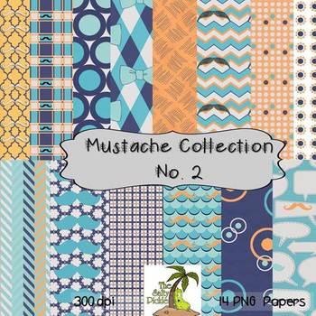 The Mustache Paper Collection No. 2