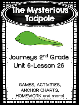 The Mysterious Tadpole Journeys 2nd Grade (Unit 6 Lesson 26)
