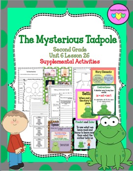 The Mysterious Tadpole ( Journeys Second Grade Unit 5 Lesson 25)