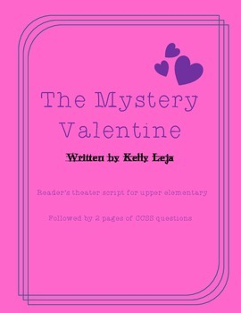 The Mystery Valentine: A CCSS Reader's Theater Script