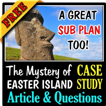 The Mystery of Easter Island - An Ecology Case Study Activ