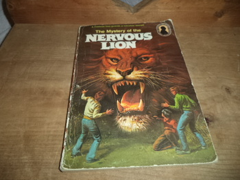 The Mystery of the Nervous Lion  ISBN 0-394-84665-6