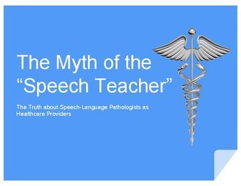 "The Myth of the ""Speech Teacher"": The Truth about Speech-L"