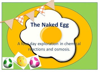 The Naked Egg Science Lab - Teach Chemical Reactions and O