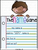 The Name Game {poem freebie}