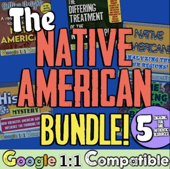 Native Americans Bundle! 5 Lessons for Native American Tri