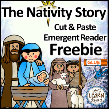 Christmas Activities Freebie, Christmas Emergent Readers T