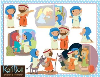 The Nativity Story Clip Art