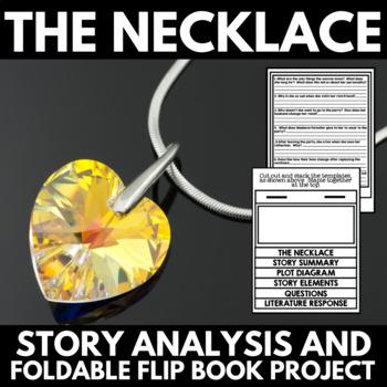The Necklace by Guy De Maupassant: Short Story Foldable Fl