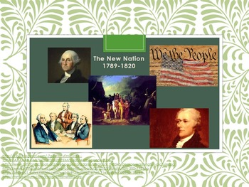 The New Nation 1789-1820 Bundle