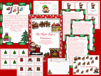 """The Night Before Christmas"" Language Unit: Primary Edition"
