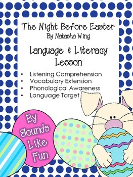 Language and Literacy Lesson FREE: The Night Before Easter