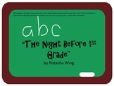 The Night Before First Grade Speech & Language Companion