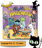 The Night Before Halloween - Natasha Wing Lesson Plan
