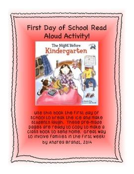The Night Before Kindergarten - Read Aloud